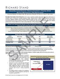 healthcare resume sample executive resume sample mary elizabeth bradford the career artisan