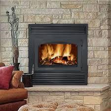wood burning fireplace doors ideas