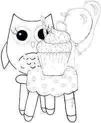 Owl Coloring Page Printable Owl Coloring Pages Printable Cute Sheets