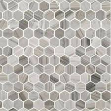 hexagon tile home depot grey hexagon tile grey hexagon tile a grey natural stone mosaic 1 hexagon tile
