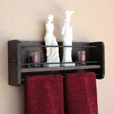 bathroom towel shelf rustic wood wall shelf towel rack bathroom towel shelf wooden bathroom towel shelves