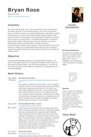 Ra Resume Resident Assistant Resume Best Resume Gallery Magnificent Resident Assistant Resume