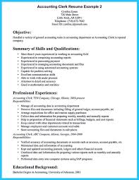 Accountant Resume Summary Awesome Objective Accounting Resume Toreto