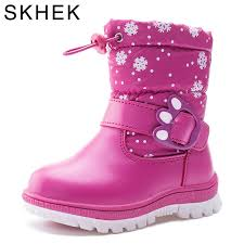 <b>SKHEK kids boots girls</b> winter shaggly kids boots boy with leather ...