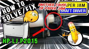 Hp laserjet p2015 printer drivers, free and safe download. How To Solve Fix Paper Jam Problem Hp Laserjet P2015 Youtube