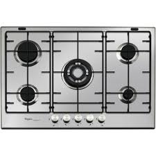 electrical home appliances cooking appliances hobs whirlpool 73cm ixelium 5 ring gas hob ganly s hardware athlone