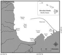 Sampling Stations In Hilo Bay Hawaii Usa For Examining