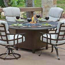 round fire pit table hayneedle