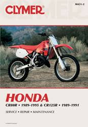 honda motorcycle manuals diy repair manuals clymer honda cr80r 1989 1995 cr125r 1989 1991 service repair