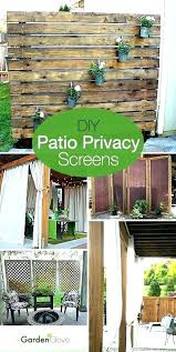patio privacy plants screens pictures