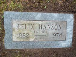 Felix Hanson (1882-1974) - Find A Grave Memorial
