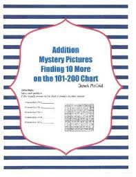 101 200 Chart Printable Finding 10 More Mystery Pictures