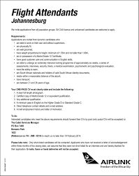 Cabin Crew Job Application Form Image Collections Standard Form