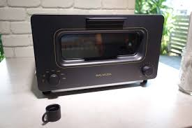 steam toaster oven.  Steam Balmudatoaster1 To Steam Toaster Oven