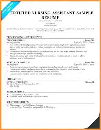 Cna Resume Inspiration Cna Resume Hospital Experience Awesome Sample Cna Resume Noxdefense