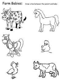 3abfbb1294ab4cf8c2db3338033c131e farm activities farm unit preschool printable farm worksheets animal matching worksheets on 12 years a slave movie worksheet