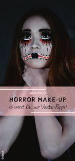 schmink tutorial zu halloween voodoo halloween makeup tutorial