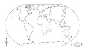 World Map Coloring Pages Printable Map World Map Coloring Pages With