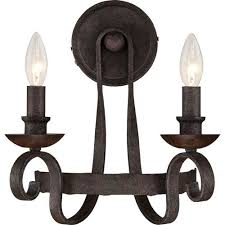 cheap wall sconce lighting. Unique Sconce Noble Rustic Black TwoLight Wall Sconce Throughout Cheap Lighting