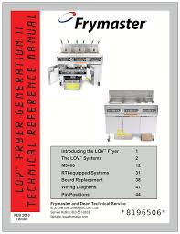 frymaster lov m3000 user s manual manualzz com frymaster lov m3000 user s manual