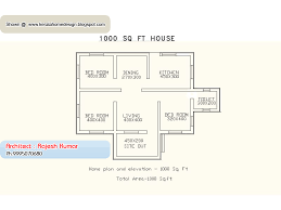 1000 sq ft house plans 2 bedroom indian style 1000 sq ft house