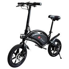 <b>DYU D3F</b> Folding Moped <b>Electric</b> Bike 14 Inch Inflatable Rubber ...