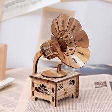 Only 3 available and it's in 2 people's carts. Creative Gramophone Musical Boxes Diy Wooden Music Box Wood Etsy Musicproducer Musicvideo Weather Produc Music Box Vintage Wooden Music Box Musical Box