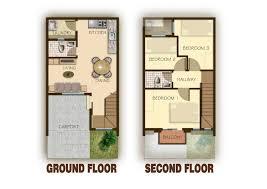 two y european house floor plans 3d interior