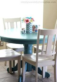 painted table and chairs transforming a table chairs with chalk paint painted kitchen chairs ebay