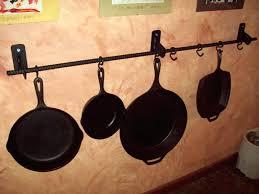 wall mounted pot racks iron wall mounted pot rack wall mounted pot racks canada