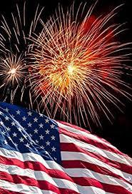 Amazon Com Laeacco 6x8ft Photography Backdrop American Flag