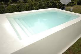 Above Ground Fibreglass Swimming Pools