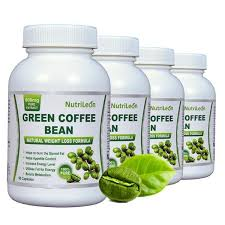 nutrileon green coffee bean pure extract for weight loss fat burnner 800mg 60 capsules organic