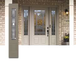 front door with sidelitesSide Lights and Sidelite Windows with Stained Glass for Front Doors