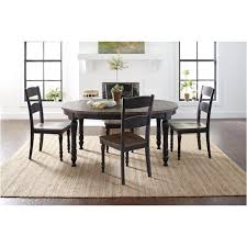 1702 66 jofran furniture madison county vintage black dining room dining table