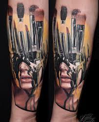 makeup artist tattoo designs getuget s free design tattoos