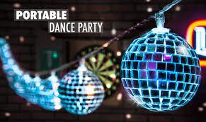 lighting string. portable dance party lighting string