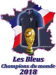 Résultats de recherche d'images pour «les bleus champion du monde»