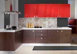 Red Gloss Kitchen Cabinets 30 Modern Open Kitchen Designs Modern Kitchen Open Kitchen