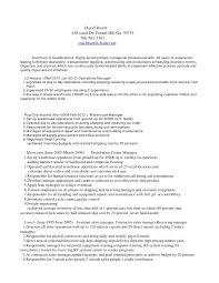 Warehouse Specialist Resume - Free Letter Templates Online - Jagsa.us
