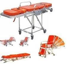 Stretcher Cum Wheelchair, चेयर स्ट्रेचर, कुर्सी वाला स्ट्रेचर in Santacruz West, Mumbai , Healthcare Equipment & Supplies   ID: 6941370397