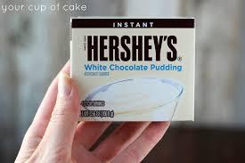 hershey white chocolate pudding. Wonderful White Pudding Frosting Throughout Hershey White Chocolate Y
