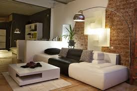 living room floor lamp. living room lamps home ideas floor lamp brick wall