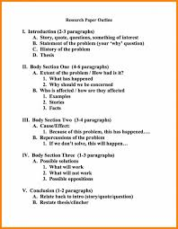 Outline Sample 24 Research Paper Outline Example Format Quotation Samples For On 15