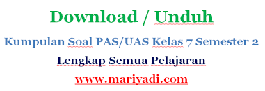 Amarga akeh wong kang padha mudik 5. Download Soal Uas Bahasa Sunda Kelas 7 Semester 2 Kurikulum 2013 Dan Kunci Jawaban Mariyadi Com