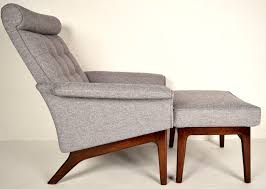 mid century danish lounge chair. Simple Century MidCentury Danish Lounge Chair U0026 Ottoman By Poul Jensen To Mid Century S
