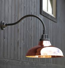 Carson Gooseneck Wall Mount - Exterior barn lighting