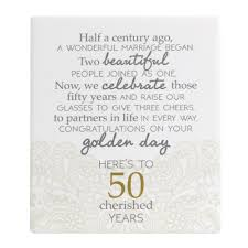 golden wedding anniversary plaque anniversary gifts nz wedding