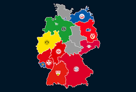 Bundesliga, is a professional association football league in germany. Landkarte Ewige Tabelle Der 1 Bundesliga Die Falsche 9