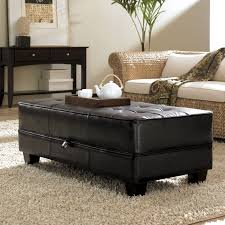 round cocktail ottoman with shelf oversized ottoman tufted leather ottoman storage tufted ottoman coffee table